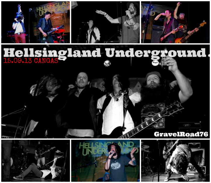 Hellsingland Underground de vuelta en casa tras su tour por España.