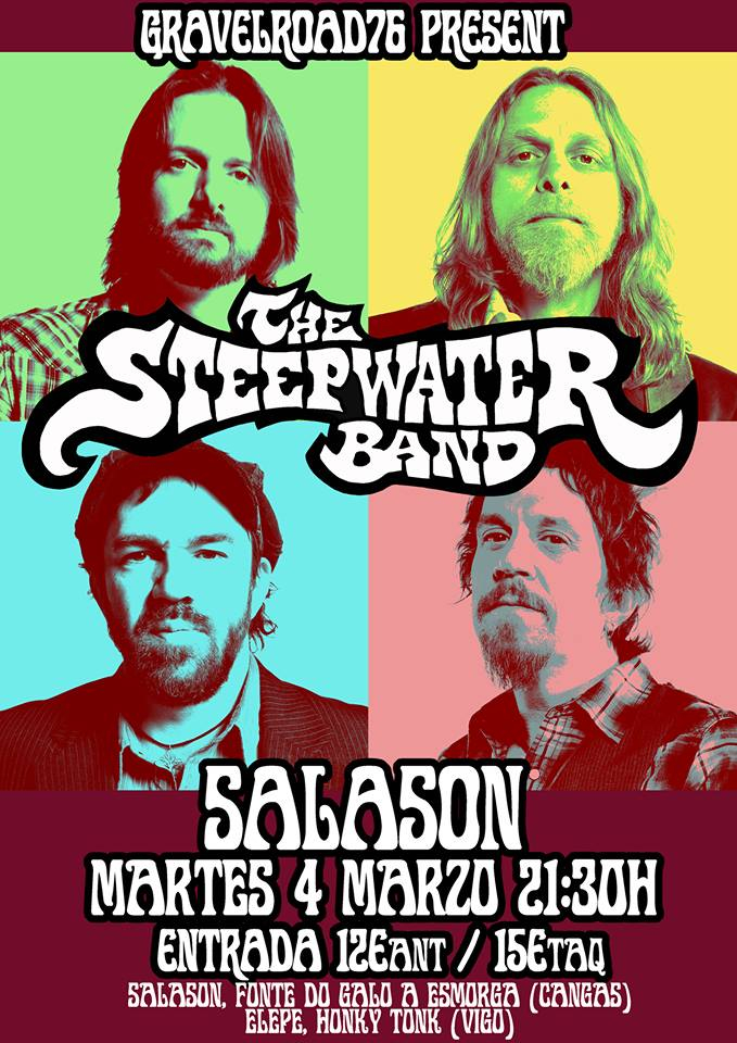Steepwater Band spanish tour 2014
