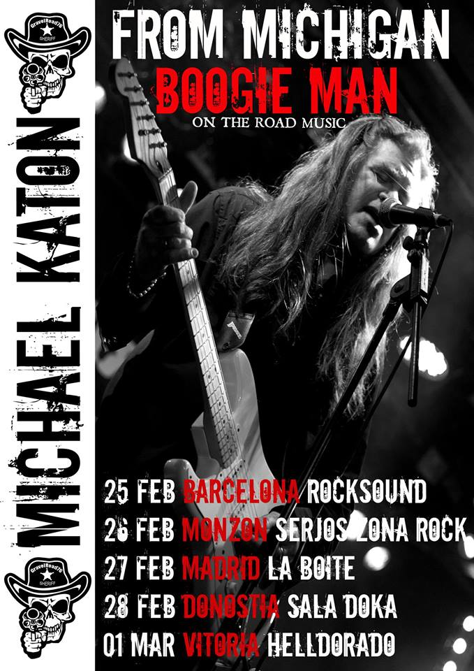 Michael Katon Spanish Tour 2014