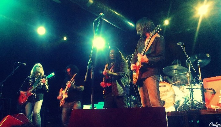 The Steepwater Band recuerdos de Sevilla