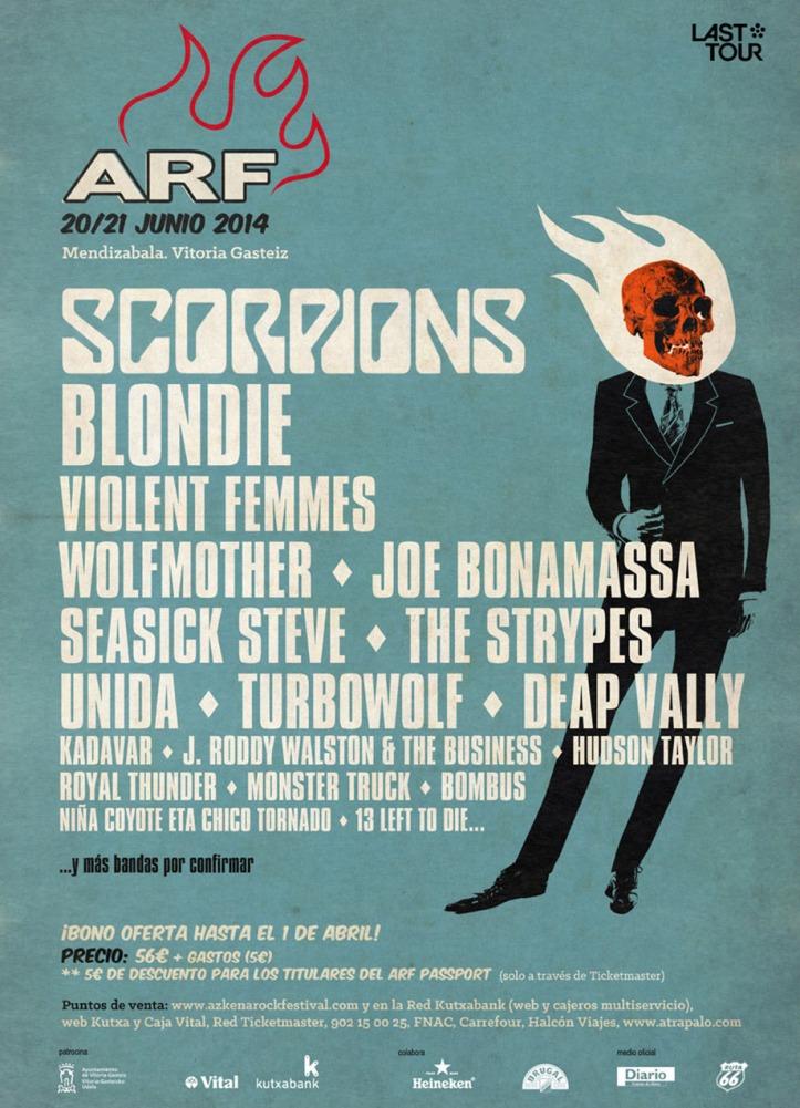 j roddy walston and the business en el Azkena Rock Festival 2014